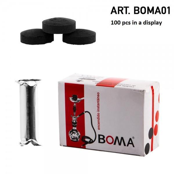 CHARCOAL BOMA 01 10PCS